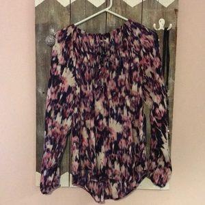 BNWT purple blouse